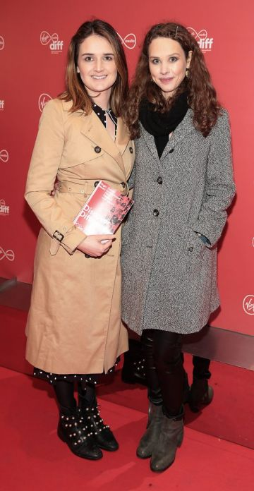 Charleigh Bailey and Juliette Bonass at the Virgin Media Dublin International Film Festival launch at The Lighthouse Cinema, Dublin. Photo: Brian McEvoy