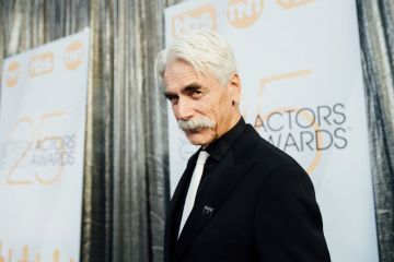 LOS ANGELES, CALIFORNIA - JANUARY 27:  (EDITORS NOTE: Image has been edited using a digital filter) Sam Elliott arrives at the 25th annual Screen Actors Guild Awards at The Shrine Auditorium on January 27, 2019 in Los Angeles, California. (Photo by Emma McIntyre/Getty Images for Turner)