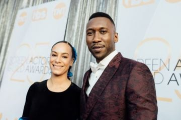LOS ANGELES, CALIFORNIA - JANUARY 27:  (EDITORS NOTE: Image has been edited using a digital filter) Amatus Sami-Karim (L) and Mahershala Ali arrive at the 25th annual Screen Actors Guild Awards at The Shrine Auditorium on January 27, 2019 in Los Angeles, California. (Photo by Emma McIntyre/Getty Images for Turner)