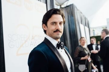 LOS ANGELES, CALIFORNIA - JANUARY 27: (EDITORS NOTE: Image has been edited using digital filters) Milo Ventimiglia arrives at the 25th annual Screen Actors Guild Awards at The Shrine Auditorium on January 27, 2019 in Los Angeles, California. (Photo by Emma McIntyre/Getty Images for Turner)
