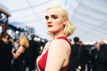 LOS ANGELES, CALIFORNIA - JANUARY 27:  (EDITORS NOTE: Image has been edited using a digital filter) Gayle Rankin arrives at the 25th annual Screen Actors Guild Awards at The Shrine Auditorium on January 27, 2019 in Los Angeles, California. (Photo by Emma McIntyre/Getty Images for Turner)