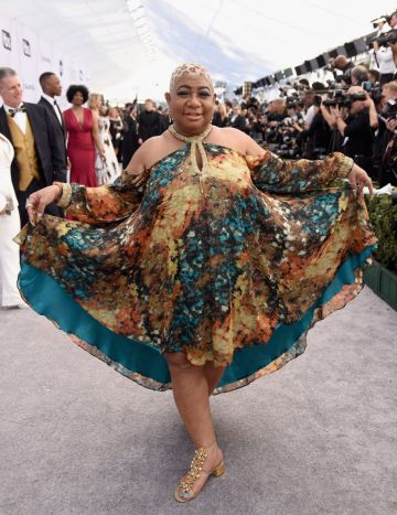 LOS ANGELES, CA - JANUARY 27:  Luenell attends the 25th Annual Screen Actors Guild Awards at The Shrine Auditorium on January 27, 2019 in Los Angeles, California.  (Photo by Presley Ann/Getty Images)