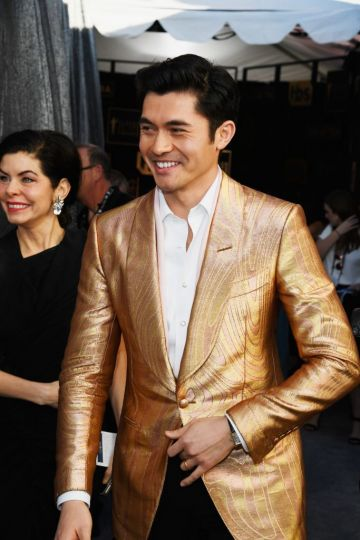 LOS ANGELES, CA - JANUARY 27:  Henry Golding attends the 25th Annual Screen Actors Guild Awards at The Shrine Auditorium on January 27, 2019 in Los Angeles, California.  (Photo by Kevork Djansezian/Getty Images)
