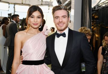 LOS ANGELES, CA - JANUARY 27:  Gemma Chan (L) and Richard Madden attend the 25th Annual Screen ActorsGuild Awards at The Shrine Auditorium on January 27, 2019 in Los Angeles, California.  (Photo by Kevork Djansezian/Getty Images)