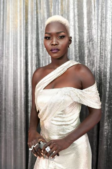 LOS ANGELES, CA - JANUARY 27: Nyakim Gatwech attends the 25th Annual Screen Actors Guild Awards at The Shrine Auditorium on January 27, 2019 in Los Angeles, California. 480518  (Photo by Emma McIntyre/Getty Images for Turner)