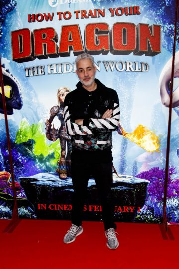Repro Free: 27/01/2019 Baz Ashmawy pictured at the Irish premiere screening of HOW TO TRAIN YOUR DRAGON: THE HIDDEN WORLD at the Light House Cinema, Dublin. Starring Kit Harrington, Cate Blanchett, America Ferrera, Jonah Hill, Kristen Wiig and Jay Baruchel, HOW TO TRAIN YOUR DRAGON : THE HIDDEN WORLD hits cinemas across Ireland from February 1st. Now chief and ruler of Berk alongside Astrid, Hiccup has created a gloriously chaotic dragon utopia.  When the sudden appearance of female Light Fury coincides with the darkest threat their village has ever faced, Hiccup and Toothless must leave the only home they've known and journey to a hidden world thought only to exist in myth.  As their true destines are revealed, dragon and rider will fight together—to the very ends of the Earth—to protect everything they've grown to treasure. Picture Andres Poveda