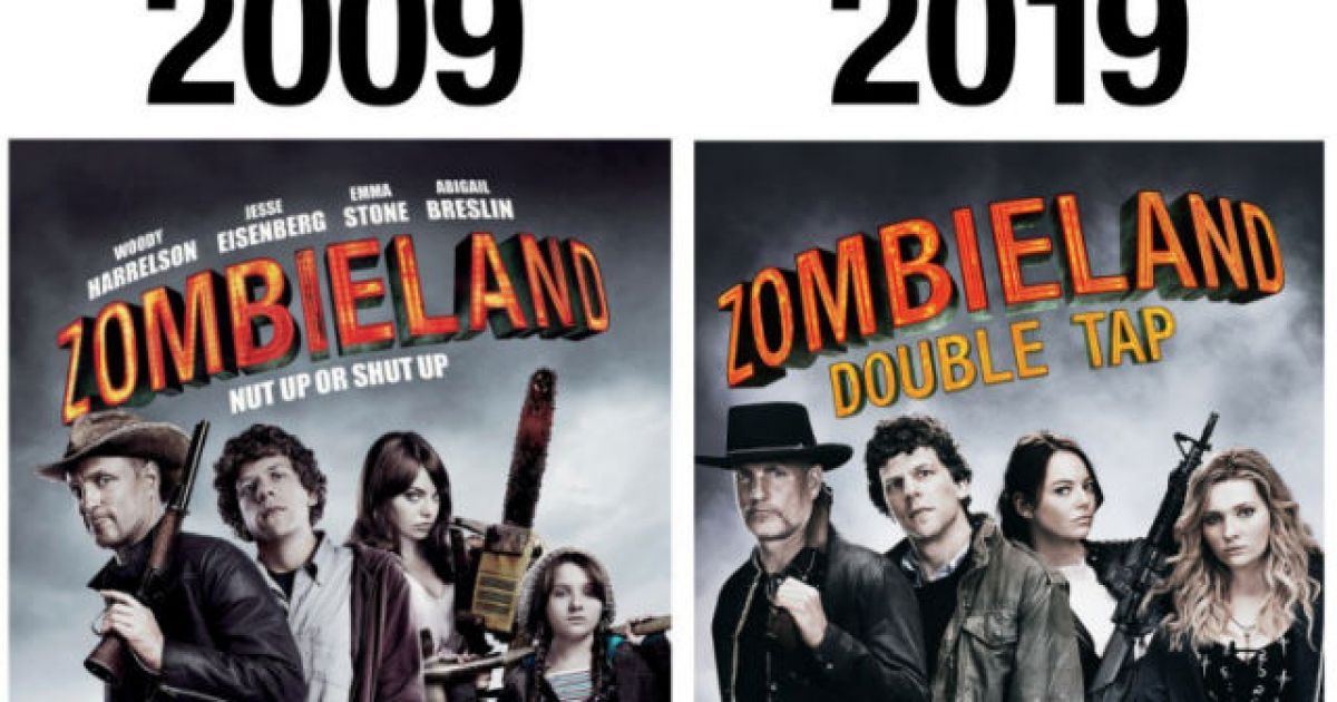 Zombieland Sequel Reveals New Poster By Doing The 10 Year