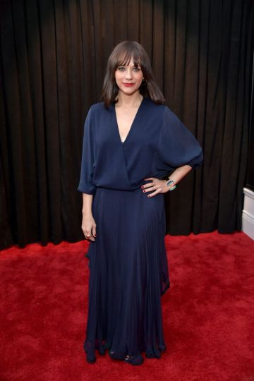 LOS ANGELES, CA - FEBRUARY 10:  Rashida Jones attends the 61st Annual GRAMMY Awards at Staples Center on February 10, 2019 in Los Angeles, California.  (Photo by Neilson Barnard/Getty Images for The Recording Academy)