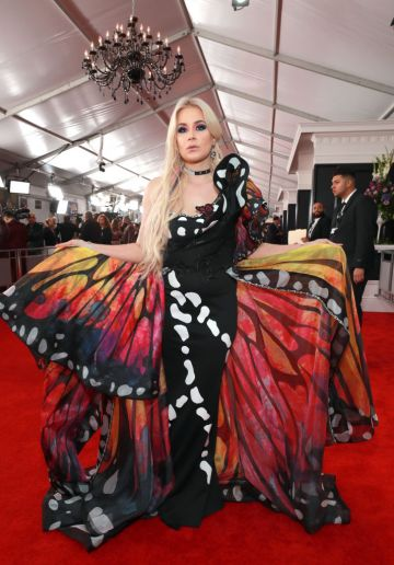 LOS ANGELES, CA - FEBRUARY 10:  Saint Heart attends the 61st Annual GRAMMY Awards at Staples Center on February 10, 2019 in Los Angeles, California.  (Photo by Rich Fury/Getty Images for The Recording Academy)