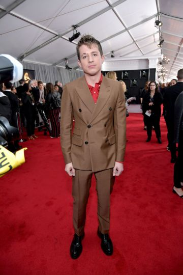LOS ANGELES, CA - FEBRUARY 10:  Charlie Puth attends the 61st Annual GRAMMY Awards at Staples Center on February 10, 2019 in Los Angeles, California.  (Photo by Neilson Barnard/Getty Images for The Recording Academy)