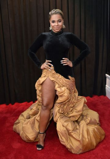 LOS ANGELES, CA - FEBRUARY 10:  Ashanti attends the 61st Annual GRAMMY Awards at Staples Center on February 10, 2019 in Los Angeles, California.  (Photo by Neilson Barnard/Getty Images for The Recording Academy)