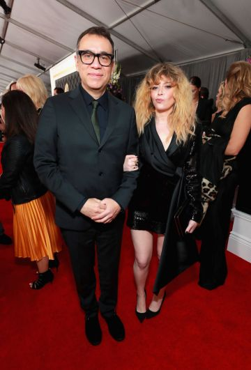 LOS ANGELES, CA - FEBRUARY 10:   (L-R) Fred Armisen and Natasha Lyonne attend the 61st Annual GRAMMY Awards at Staples Center on February 10, 2019 in Los Angeles, California.  (Photo by Rich Fury/Getty Images for The Recording Academy)