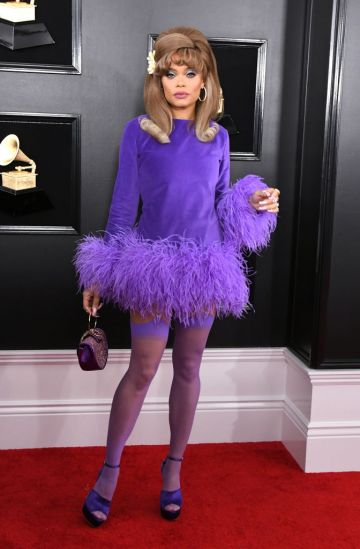 LOS ANGELES, CALIFORNIA - FEBRUARY 10: Andra Day attends the 61st Annual GRAMMY Awards at Staples Center on February 10, 2019 in Los Angeles, California. (Photo by Jon Kopaloff/Getty Images)