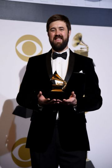 LOS ANGELES, CALIFORNIA - FEBRUARY 10: Alex Pasco, winner of Best Engineered Album, Non-Classical for 'Colors', poses in the press room during the 61st Annual GRAMMY Awards at Staples Center on February 10, 2019 in Los Angeles, California. (Photo by Amanda Edwards/Getty Images)