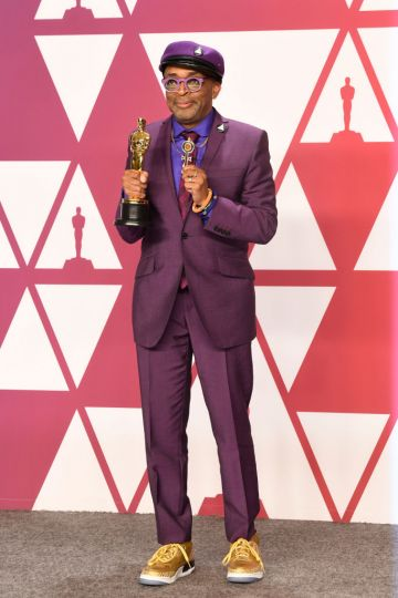 "HOLLYWOOD, CALIFORNIA - FEBRUARY 24: Director-writer Spike Lee, winner of Best Adapted Screenplay for ""BlacKkKlansman,"" poses in the press room during the 91st Annual Academy Awards at Hollywood and Highland on February 24, 2019 in Hollywood, California. (Photo by Frazer Harrison/Getty Images)"