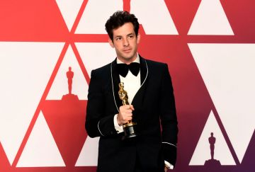 "HOLLYWOOD, CALIFORNIA - FEBRUARY 24: Mark Ronson, winner of Best Original Song for ""Shallow"" from ""A Star is Born,"" poses in the press room during the 91st Annual Academy Awards at Hollywood and Highland on February 24, 2019 in Hollywood, California. (Photo by Frazer Harrison/Getty Images)"