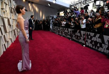 Emilia Clarke attends the 91st Annual Academy Awards on February 24, 2019 in Hollywood, California. (Photo by Kevork Djansezian/Getty Images)