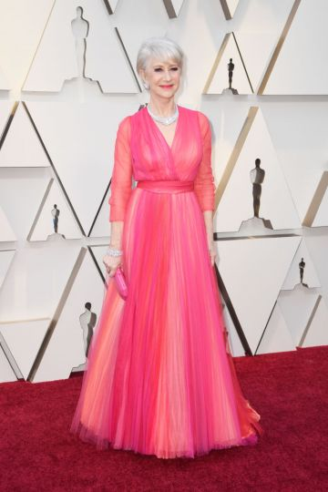 Dame Helen Mirren attends the 91st Annual Academy Awards on February 24, 2019 in Hollywood, California. (Photo by Frazer Harrison/Getty Images)