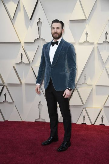 Chris Evans attends the 91st Annual Academy Awards on February 24, 2019 in Hollywood, California. (Photo by Frazer Harrison/Getty Images)