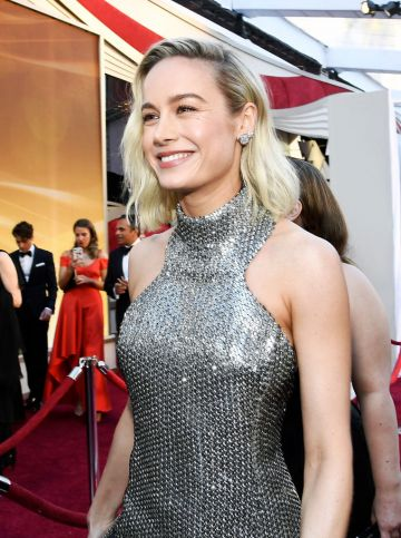 Brie Larson attends the 91st Annual Academy Awards on February 24, 2019 in Hollywood, California. (Photo by Kevork Djansezian/Getty Images)