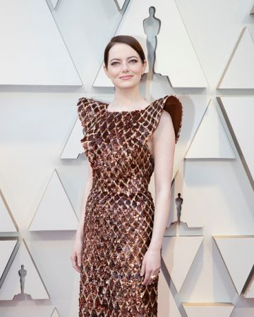 Emma Stone attends the 91st Academy Awards on February 24, 2019. (Photo by Rick Rowell via Getty Images)