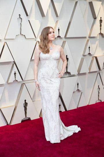 Amy Adams arrives at the 91st Academy Awards on February 24, 2019. (Photo by Rick Rowell via Getty Images)