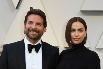 Bradley Cooper (L) and his wife Russian model Irina Shayk arrive for the 91st Annual Academy Awards at the Dolby Theatre in Hollywood, California on February 24, 2019. (Photo by Mark Ralston/AFP/Getty Images)