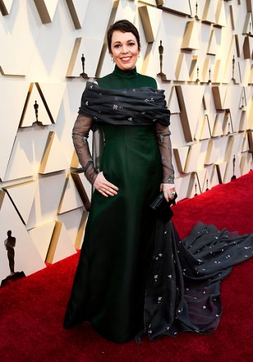 Olivia Colman attends the 91st Annual Academy Awards on February 24, 2019 in Hollywood, California. (Photo by Kevork Djansezian/Getty Images)