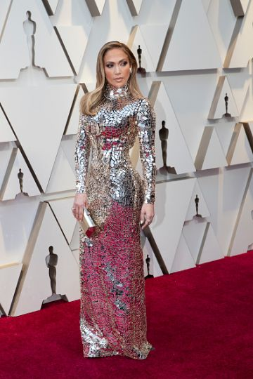 Jennifer Lopez at the 91st Academy Awards Red Carpet on February 24, 2019. (Photo by Rick Rowell via Getty Images)