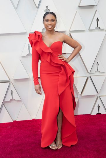 Jennifer Hudson arrives at the 91st Academy Awards on February 24, 2019. (Photo by Rick Rowell via Getty Images)