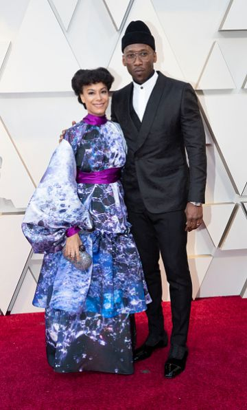 Amatus Sami-Karim and Mahershala Ali at the 91st Academy Awards Red Carpet on February 24, 2019. (Photo by Rick Rowell via Getty Images)