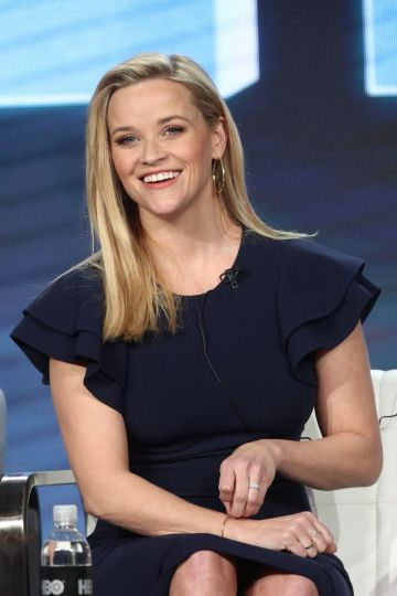 Reese Witherspoon of the Season Two series 'Big Little Lies' appears onstage during the HBO segment of the 2019 Winter Television Critics Association Press Tour at The Langham Huntington, Pasadena on February 08, 2019 in Pasadena, California. (Photo by Frederick M. Brown/Getty Images)