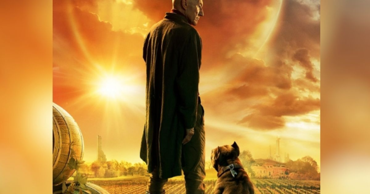 U0026 39 Picard U0026 39  Poster Reveals That Picard Has A Pit Bull Called