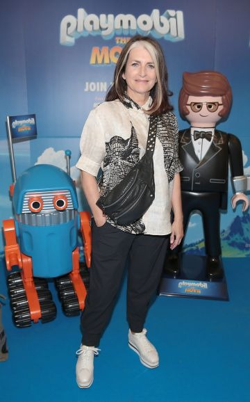 Cathy O Connor at the special preview screening of Playmobil : The Movie. Photo: Brian McEvoy