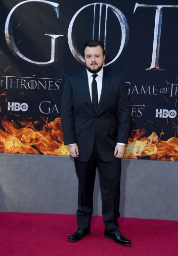 "NEW YORK, NEW YORK - APRIL 03: John Bradley attends the ""Game Of Thrones"" Season 8 Premiere on April 03, 2019 in New York City. (Photo by Dimitrios Kambouris/Getty Images)"