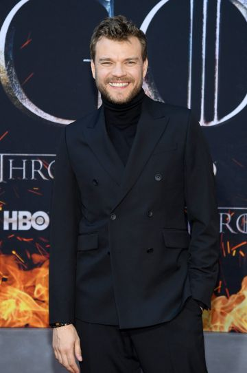 "NEW YORK, NEW YORK - APRIL 03: Pilou Asbæk attends the ""Game Of Thrones"" Season 8 Premiere on April 03, 2019 in New York City. (Photo by Dimitrios Kambouris/Getty Images)"