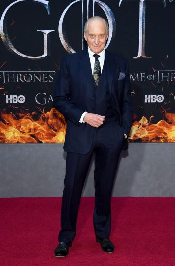 "NEW YORK, NEW YORK - APRIL 03: Charles Dance attends the ""Game Of Thrones"" Season 8 Premiere on April 03, 2019 in New York City. (Photo by Dimitrios Kambouris/Getty Images)"