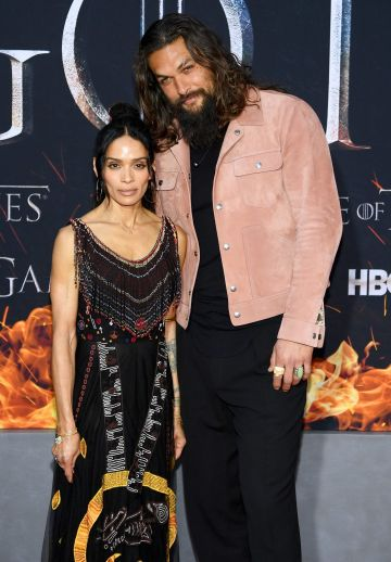 "NEW YORK, NEW YORK - APRIL 03: Lisa Bonet  and Jason Momoa attend the ""Game Of Thrones"" Season 8 Premiere on April 03, 2019 in New York City. (Photo by Dimitrios Kambouris/Getty Images)"