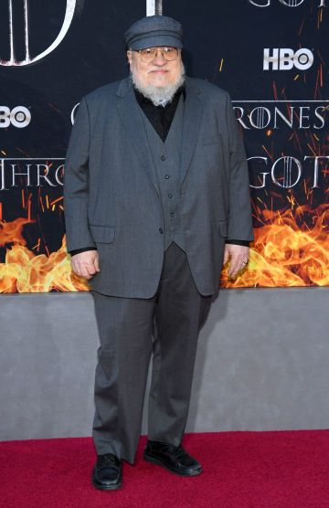 "NEW YORK, NEW YORK - APRIL 03: George R. R. Martin attends the ""Game Of Thrones"" Season 8 Premiere on April 03, 2019 in New York City. (Photo by Dimitrios Kambouris/Getty Images)"