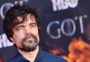 "US actor Peter Dinklage arrives for the ""Game of Thrones"" eighth and final season premiere at Radio City Music Hall on April 3, 2019 in New York city. (Photo by Angela Weiss / AFP)        (Photo credit should read ANGELA WEISS/AFP/Getty Images)"