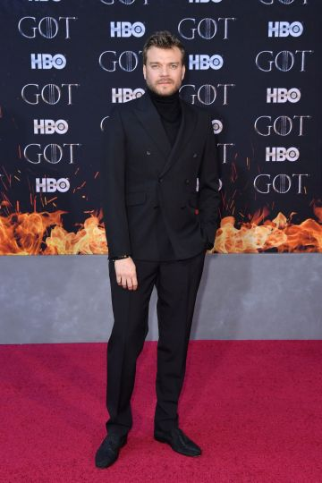 "Danish actor Pilou Asbæk arrives for the ""Game of Thrones"" eighth and final season premiere at Radio City Music Hall on April 3, 2019 in New York city. (Photo by Angela Weiss / AFP)        (Photo credit should read ANGELA WEISS/AFP/Getty Images)"