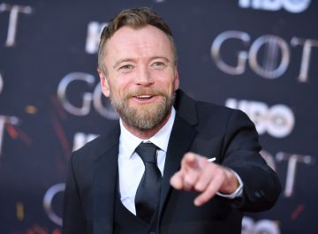 "Irish actor Richard Dormer arrives for the ""Game of Thrones"" eighth and final season premiere at Radio City Music Hall on April 3, 2019 in New York city. (Photo by Angela Weiss / AFP)        (Photo credit should read ANGELA WEISS/AFP/Getty Images)"