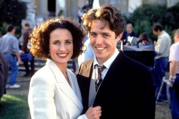Four Weddings and a Funeral (1994) Andie MacDowell and Hugh Grant