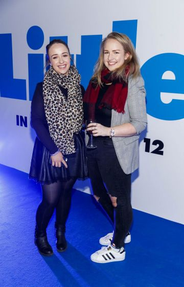 Micelle and Kathleen Horan pictured at a special preview screening of Little at Odeon Point Square, Dublin. Little, starring Girls Trip Regina Hall hits cinemas across Ireland this Friday April 12th. Picture Andres Poveda
