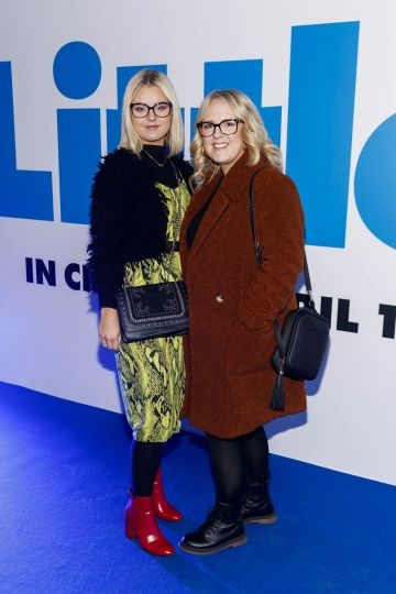 Jade and Jennifer Gregory pictured at a special preview screening of Little at Odeon Point Square, Dublin. Little, starring Girls Trip Regina Hall hits cinemas across Ireland this Friday April 12th. Picture Andres Poveda