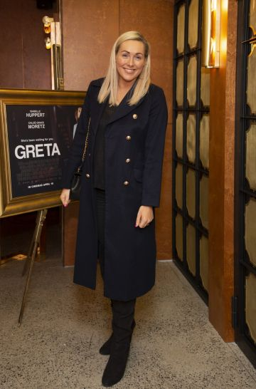 Tracy Clifford pictured at a special preview screening of GRETA at The Stella Theatre, Ranelagh. GRETA, directed by Academy Award®-winner Neil Jordan and starring Chloë Grace Moretz and Isabelle Huppert, hits cinemas across Ireland this Thursday 18th April. Photo: Anthony Woods