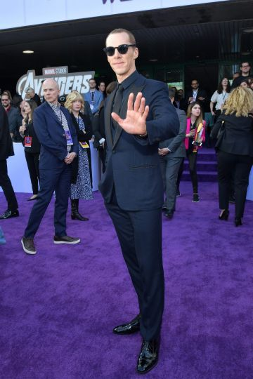 """Benedict Cumberbatch attends the world premiere of Walt Disney Studios Motion Pictures """"Avengers: Endgame"""" at the Los Angeles Convention Center on April 22, 2019 in Los Angeles, California.  (Photo by Amy Sussman/Getty Images)"""