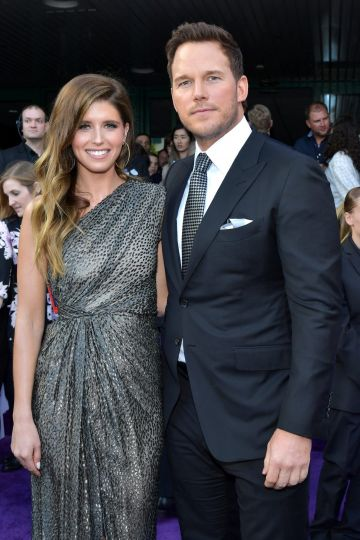 """Katherine Schwarzenegger (L) and Chris Pratt attend the world premiere of Walt Disney Studios Motion Pictures """"Avengers: Endgame"""" at the Los Angeles Convention Center on April 22, 2019 in Los Angeles, California.  (Photo by Amy Sussman/Getty Images)"""