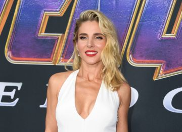 """Spanish actress Elsa Pataky arrives for the World premiere of Marvel Studios' """"Avengers: Endgame"""" at the Los Angeles Convention Center on April 22, 2019 in Los Angeles. (Photo by  VALERIE MACON/AFP/Getty Images)"""