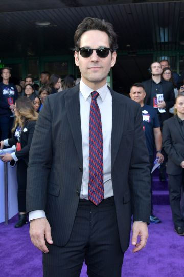"""Paul Rudd attends the world premiere of Walt Disney Studios Motion Pictures """"Avengers: Endgame"""" at the Los Angeles Convention Center on April 22, 2019 in Los Angeles, California.  (Photo by Amy Sussman/Getty Images)"""